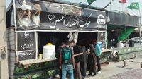 پذیرایی از زائران اربعین حسینی در موکب بیمه آسیا