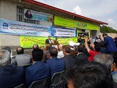 مراسم کلنگ زنی ساخت دومین مدرسه شهدای بیمه آسیا