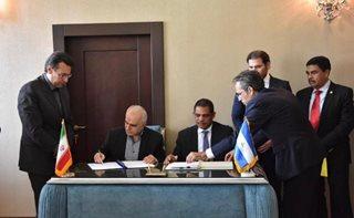 امضای موافقتنامه سرمایه گذاری مشترك بین ایران و نیكاراگوئه