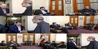 گزارشی از صنعت بیمه به رئیس مجلس شورای اسلامی