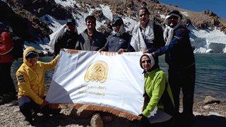 صعود کارکنان بیمهآسیا به قله سبلان