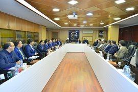 دیدار مدیرعامل بیمه آسیا با مسئولان مرکز خدمات حوزه های علمیه